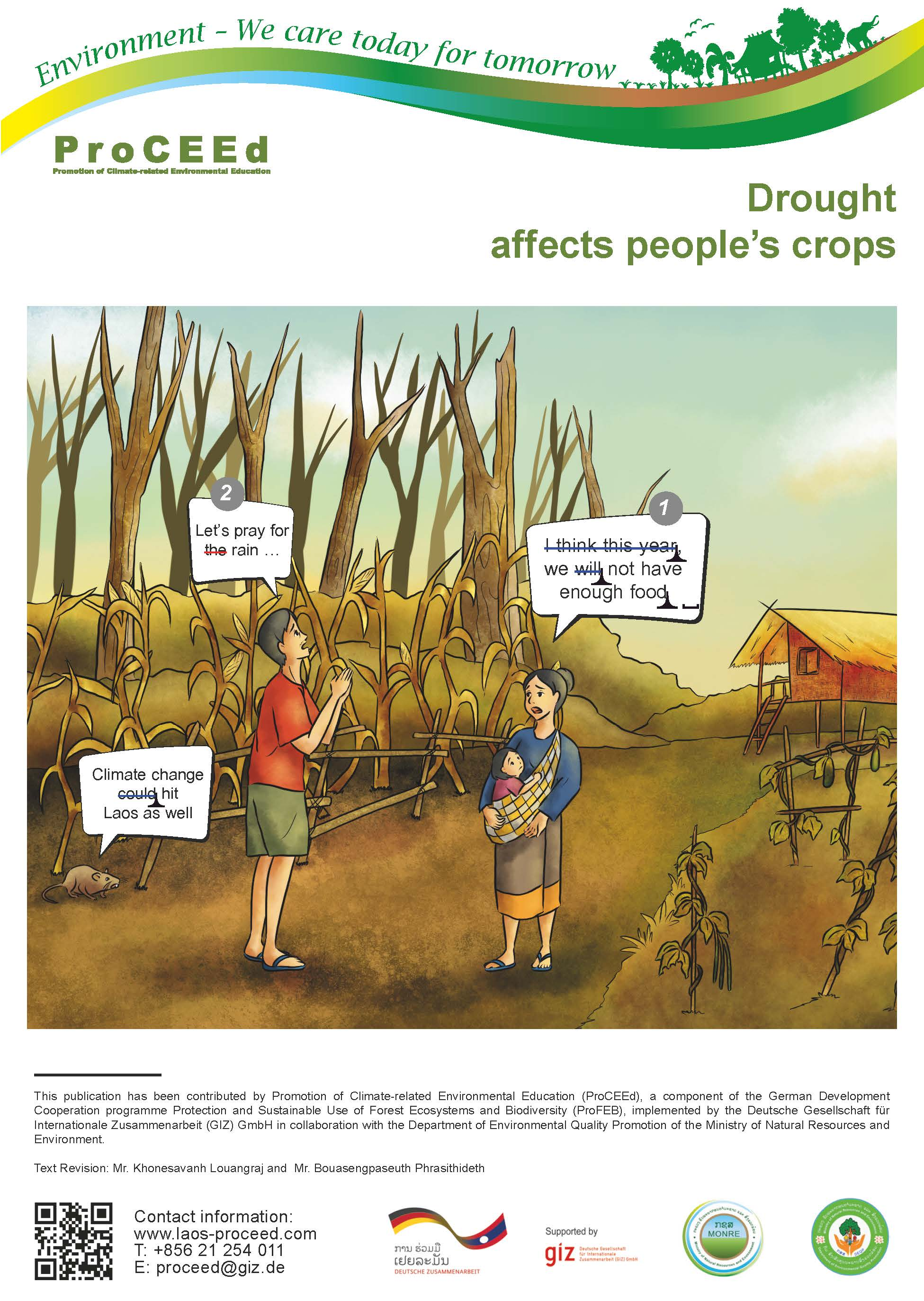Comics on Climate Change in Laos
